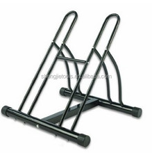 Mighty Rack Two Bike Floor Stand Bicycle Instant Park Bike Rack Cycle Stand