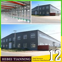 Buildingsteel structure residential building Economical Decorated Readymade India warehouse rent