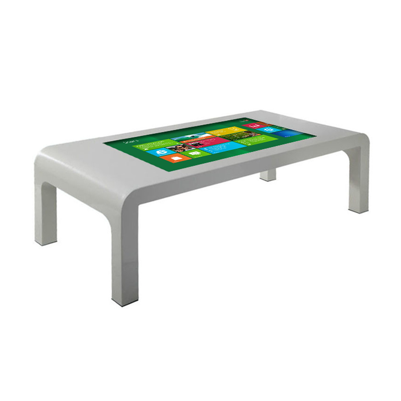 43 Inch All in One Interactive Touch Screen Lcd Digital Coffee Table Kiosk Player