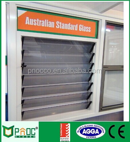 Aluminium Glass Louvers,Glass Louvers with Australian Standard Glass PNOC0008LVW