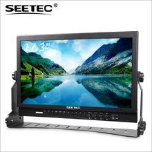 SEETEC broadcast tft screen 17 monitor with SDI HDMI input and output 1920*1080 resolution