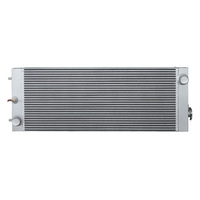 Custom plate fin high performance aluminum radiator