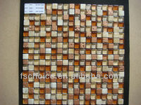 Ideal Crystal Glass Mosaic Tiles with Free Patterns