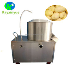 Industrial fruit vegetable skin peeler small electric sweet potato carrot peeling washing machine