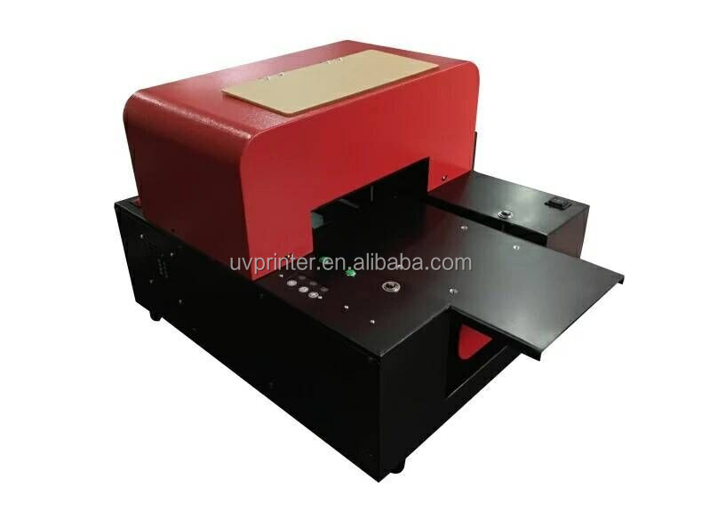 flatbed UV 8 color Printer T-shirt printing machine A3 uv flatbed printer for any flat material