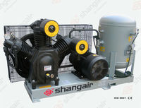 Shangair 09WM Series 11KW 30Bar High Pressure Air Compressors natural gas compressor station new china products for sale