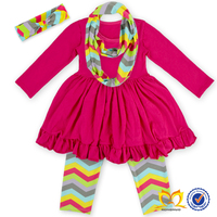 2015 thanksgiving children boutique clothing,hot pink baby girl boutique clothing sets,kids clothes TQZ-216
