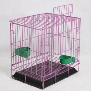 Latest Foldable Steel Wire Mesh Square antique bird cages