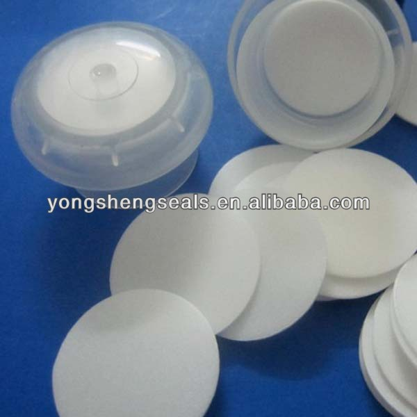 EPE Foam Seal liner/Inserts/Wads for pharmaceuticals, lubricant oils, cosmetics