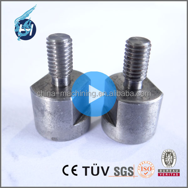 ISO9001 professional machinery supplier sewing machine fishing steel rod agricultural machinery parts with aluminum stainless