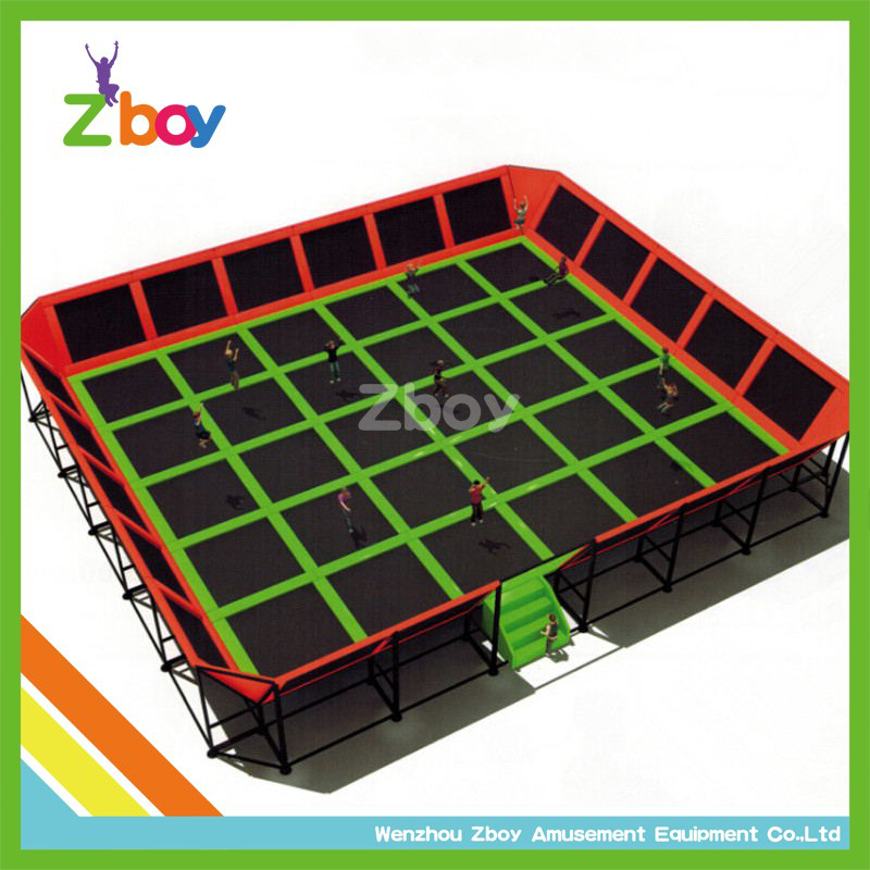 Commercial Gymnastics Trampolines, Kids Indoor Jumping Bed