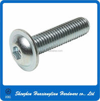 Good quality of steel truss head hex socket screws with factory's price