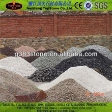 dark tumbled decorative gravel
