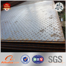 Factory price High skid resistance Zinc Checkered Iron Plate