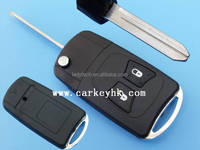 New style Chrysler 2 button flip remote car key shell case