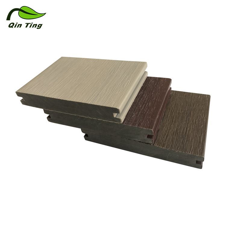 China Factory Price Low Maintenance Co-Extrusion WPC Solid Decking Board