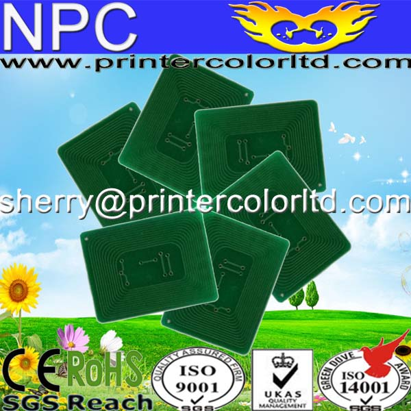 822 drum chip/toner chip for OKI C822 inkjet cartridge chip reset
