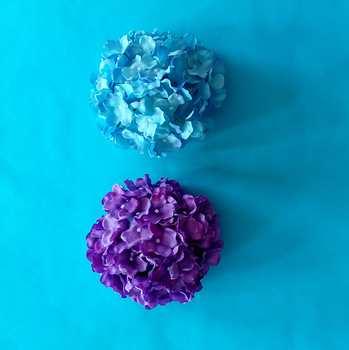 Artificial flower of Hydrangea flower for offices