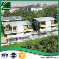 DESUMAN factory supplies ergonomic design energy conservation daquan anti-bending cheap prefabricated duplex villas