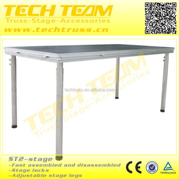 Aluminum Used Mobile Portable Stage For Sale