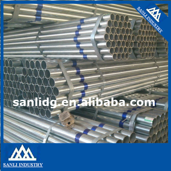 ASTM A53 good quality Galvanized Round Steel Pipe hot sale