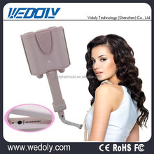Custom ceramic professional three tubes hair curler for perfect