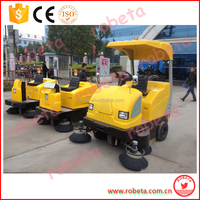 Environmental manual driving type floor sweeper/runway sweeping car