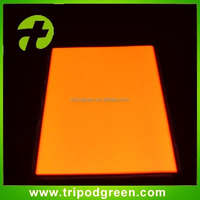 China making yellow light high bright flexible el sheet