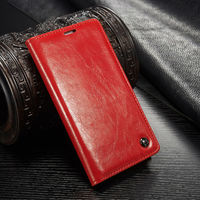 Caseme luxury New Leather Case For SamsungS5, for Samsung flip case,for Samsung s5 leather case