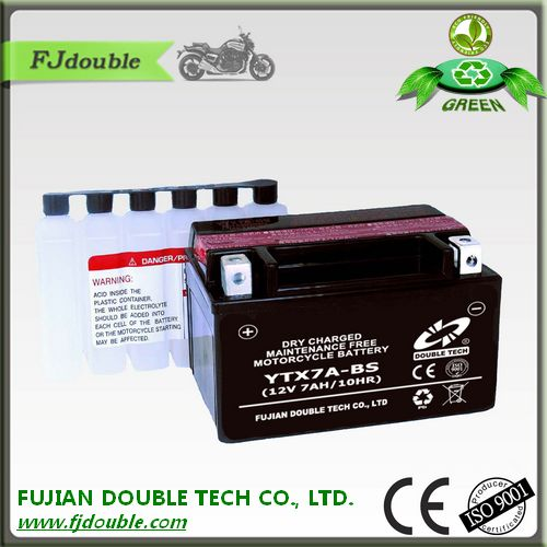 dry charged lead acid battery 12v 7ah good price