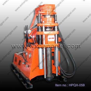 short hole coring drilling rig