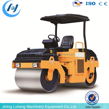 Factory Price New Road Roller Price 6 Ton Double Drum Vibratory Road Roller Compactor - LUHENG