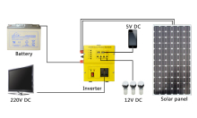 300W solar inverter off grid,solar inverter price ,solar inverter