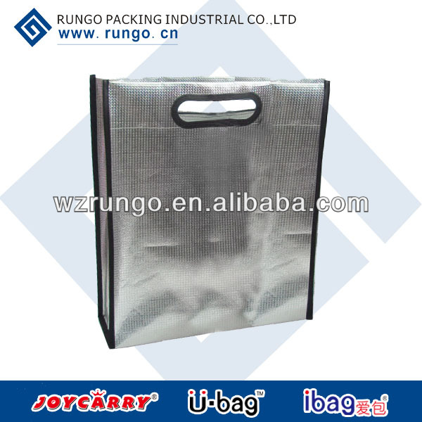 Pouched laser non woven tote bag for documents