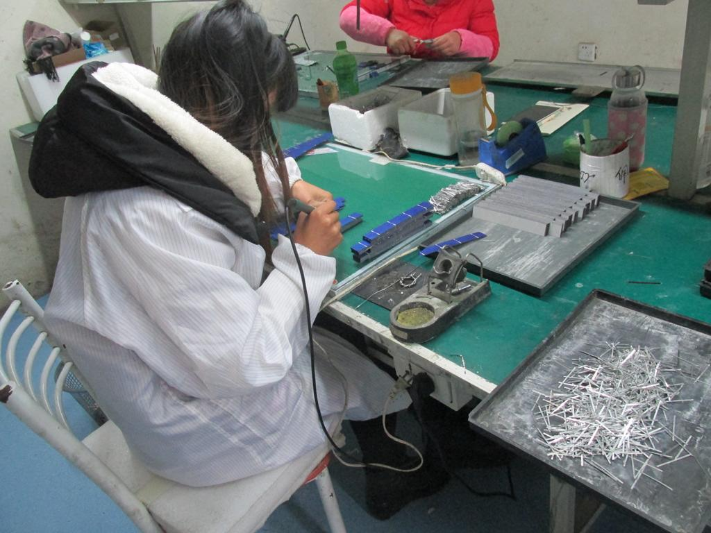 Cell Soldering