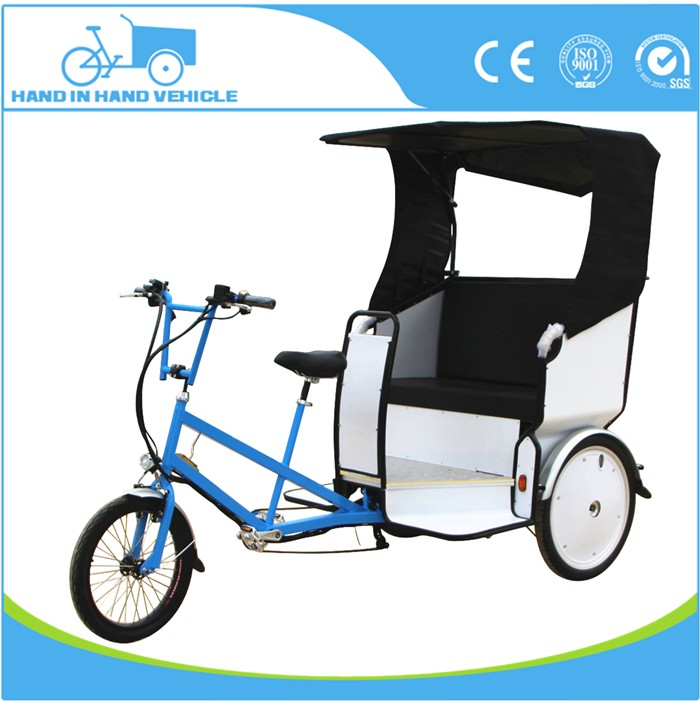 pedal sensor electric 3 wheel bike taxi for sale