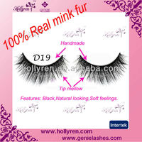 Super Long Premium Mink Fur False Eye Lashes, Mink Fur