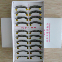 10 pairs in a tray cheap eye lashes colors false eyelashes brown lashes cheapest eyelashes false eyelashes stock eyelashes