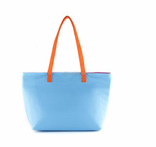 comfortable nonwoven fabric material shoulder shopping felt bag