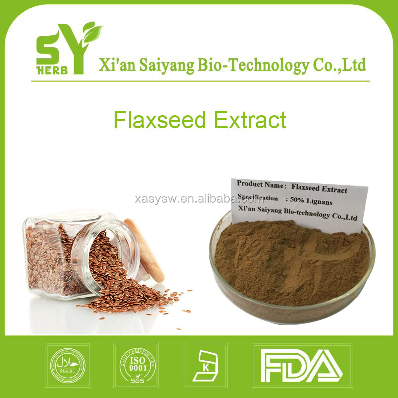 Organic Flaxseed Extract Powder