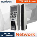 Network fingerprint time attendance system biometric door lock with display screen