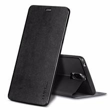 [X-Level] 2017 5.5 Inch Premium Leather Flip Case for Huawei Mate 9 Pro Kickstand Case with Protected Camera