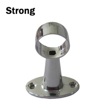 strict tolerance chrome plated muti sizes steel pipe clip fixing clamp