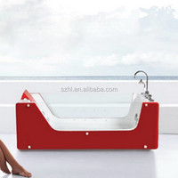 Transparent acrylic bath tub for sale