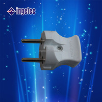 Electrical power cord with male female plug smart female male power plug