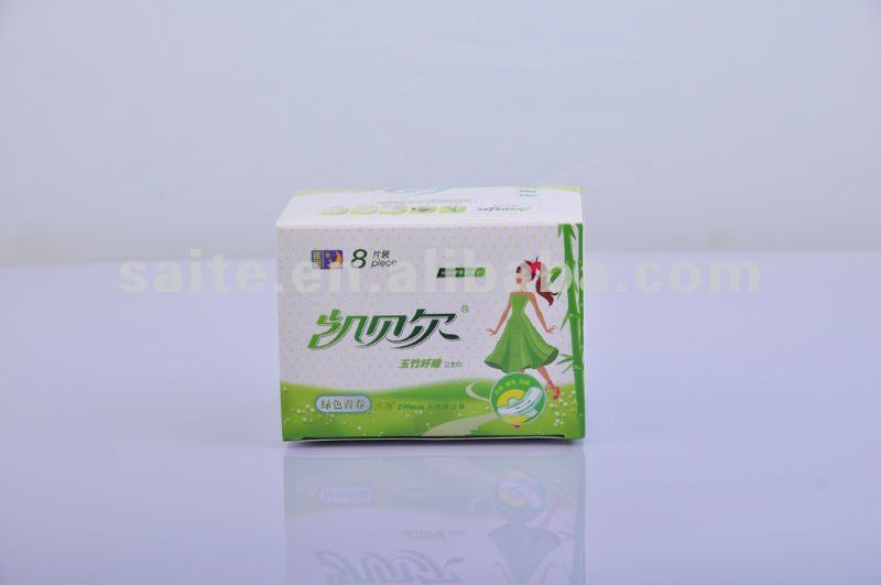 Degradable and Environmental Sanitary Napkin