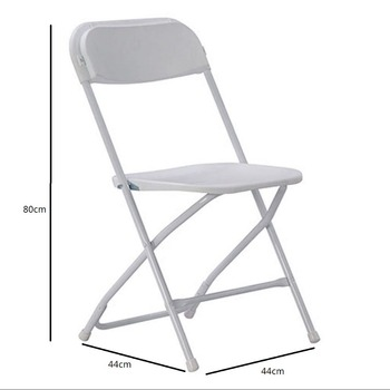 Cheap White French Outdoor Plastic Folding Wedding Chair