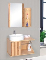 classic bamboo bathroom storage cabinets
