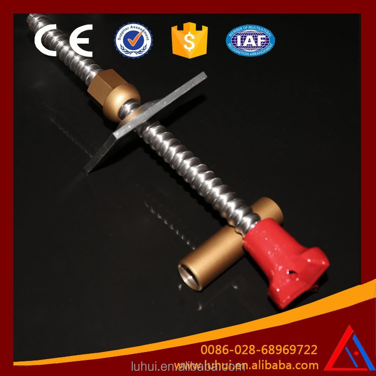 LUHUI underground construction galvanized rock bolt