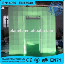 Lighting Photo Booth Inflatable Booth Tent For Advertising Promotion